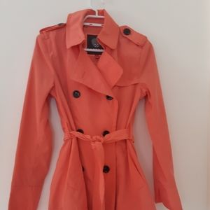 Vince Camuto trench coat Sz S